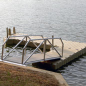 Picture of EZ Dock small installation