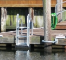 EZ Dock Ladder for Floating Wood Dock