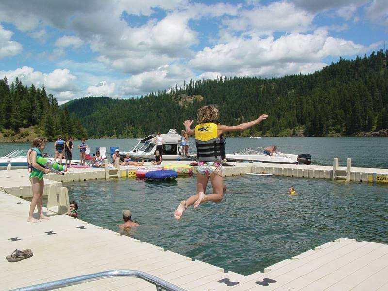 Floating Dock Fun